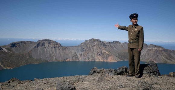 """Kataklizmas, kuris sukūrė Šiaurės Korėjos """"šventąją žemę"""""""