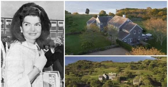 Parduodami mados ikonos Jackie Kennedy namai: net milijono nesiekusi rezidencija šiuo metu kainuoja 57 mln. eurų