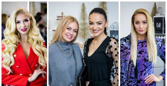 Justina Gafarovaitė žinomas bičiules pakvietė į kalėdinį vakarėlį ir pristatė naujametinį makiažą