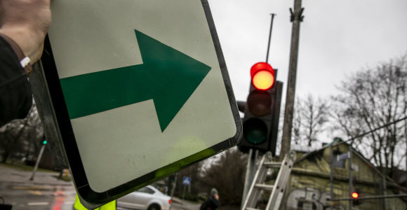 Klaipėda į miesto gatves grąžina žaliąsias rodykles