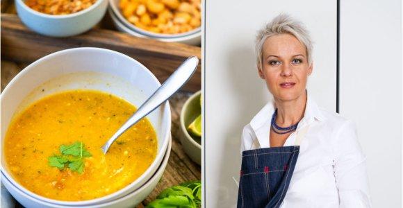 Nidos receptas: tailandietiška cukinijų sriuba