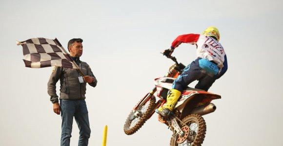 Europos motokroso čempionato kovos – sekmadienį tiesiogiai 15min