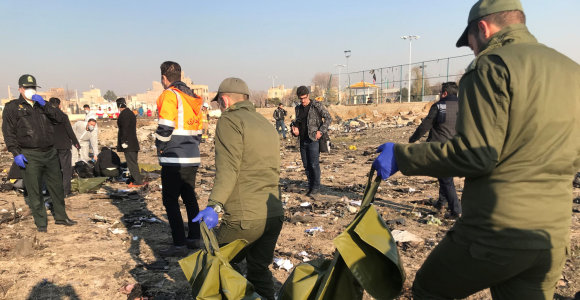 Iranas: ukrainiečių lėktuvo numušimą nulėmė klaida derinant radiolokatorių sistemą