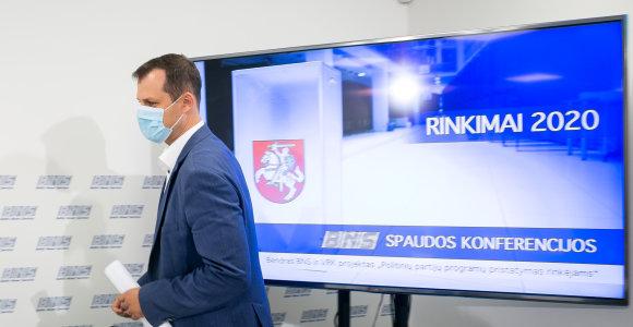 Po 15min straipsnio LSDP susizgribo atnaujinti rinkimų programą Baltarusijos klausimu