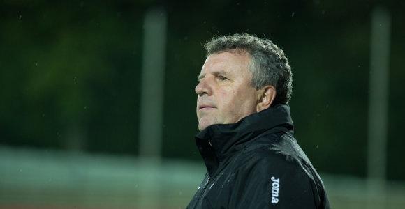 Įspūdingą pergalių seriją pasiekęs V.Čeburinas – A lygos mėnesio treneris