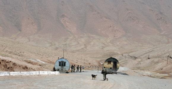 Per susirėmimą prie Kirgizijos ir Tadžikijos sienos žuvo keturi pasieniečiai
