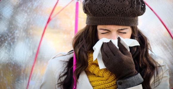 Peršalimas ir gripas: kaip juos atskirti?