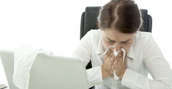 Gripas: gydytoja paneigė plačiai paplitusį mitą