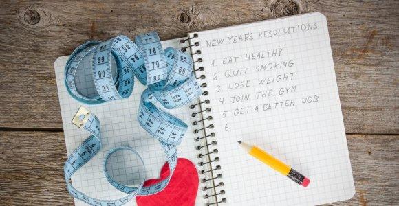 Naujųjų metai pažadai: pokyčius pradėti nuo plano ar plaukti pasroviui?