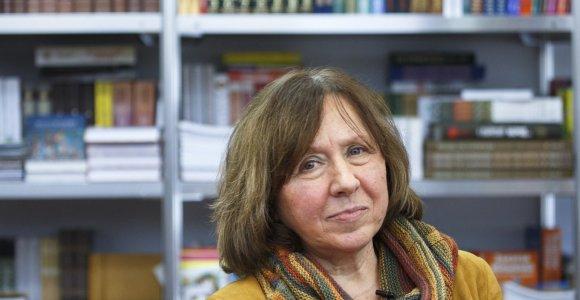 """Knygos """"Černobylio malda"""" autorė S.Aleksijevič: pažiūrėkite serialą ir pagalvokite, kokiame pasaulyje gyvename"""