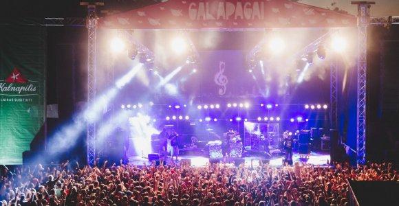 Kasdien po bilietą į tarptautinį muzikos ir pramogų festivalį Galapagai 2017!