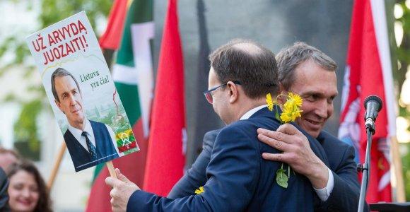 N.Puteikis lipdo naują politinę jėgą: Seime mato R.Janutienę, kalbėsis su A.Guoga