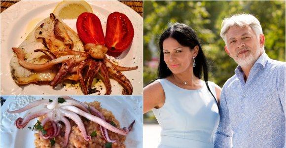 """Vakarienė pas Jurgą ir Paulių: kaip paruošti kalmarą sultingai? """"Risotte"""", grilyje, su San Marzano pomidorais"""