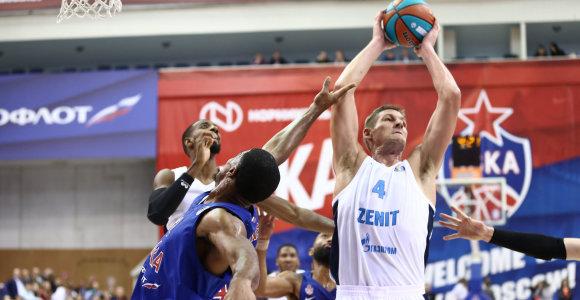 """CSKA pralaimėjimas """"Zenit"""" ekipai Jungtinėje lygoje – istorinis"""