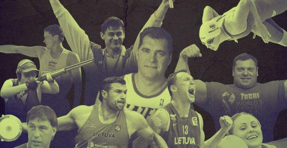 Lietuvos 30-mečio proga – mūsų sporto legendos nuo Nr. 30 iki Nr. 1