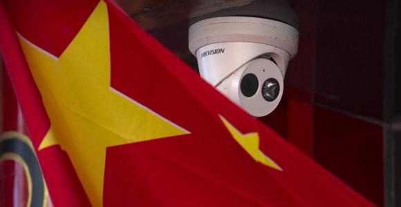Lietuvos institucijos naudoja kiniškas kameras, kurių dėl saugumo atsisakė JAV