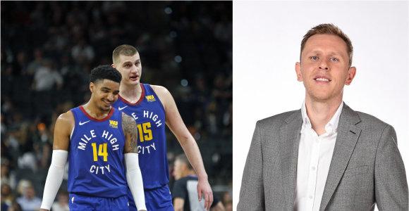 """NBA klube paaukštintas lietuvis įvertino """"Nuggets"""" šansus iškovoti čempionų žiedus"""