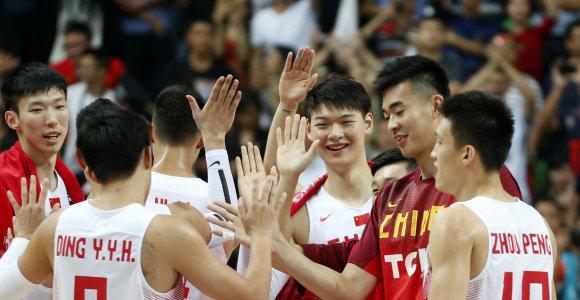 Azijos krepšinio čempionė – Kinijos rinktinė