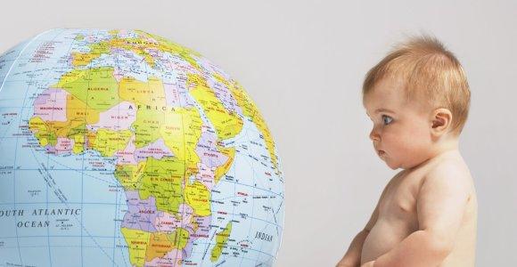 Testas nuo A iki Ž: ar žinote, kuriame žemyne yra šios pasaulio valstybės?