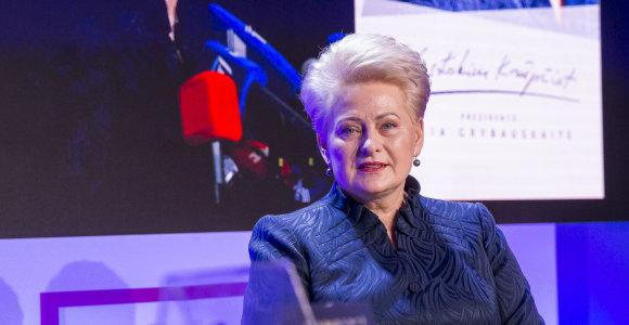 Dalia Grybauskaitė apie VSD skandalą: kelia abejonių kai kurių žvalgų kvalifikacija