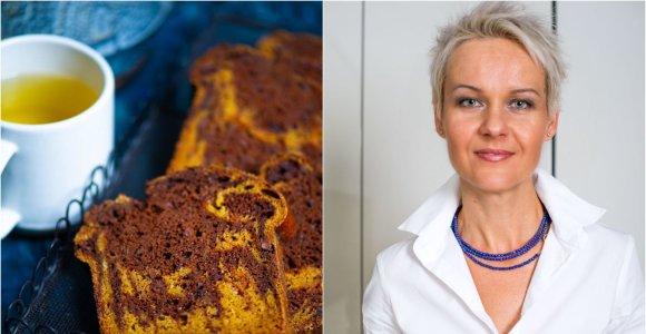 Nidos receptas: marmurinis moliūgų keksas su šokoladu