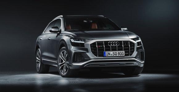 """Pats sportiškiausias """"Audi"""": aštuonių cilindrų """"SQ8 TDI"""""""