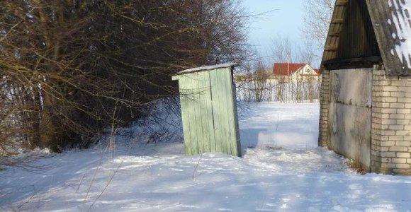 Vietoj lauko tualetų saugomose teritorijose – modernūs įrenginiai