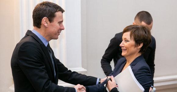 LNK vadovė Z.Sarakienė: susitikimai su V.Gapšiu vyko kaip su kitais politikais
