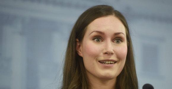 Suomijoje darbą pradeda jauniausia pasaulio premjerė