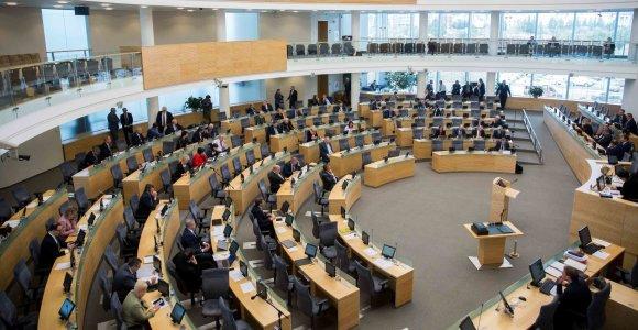 Seimas atmetė siūlymą siaurinti parlamentarų, teisėjų, ministrų imunitetą