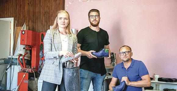 """Žinomo batų dizainerio Ž.Maslausko verslą dvidešimties perėmęs sūnus Benas: žmonės skubėjo mane """"nurašyti"""""""