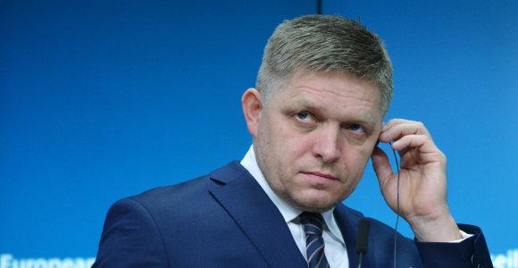 Slovakijos ekspremjeras apkaltintas neapykantos kurstymu
