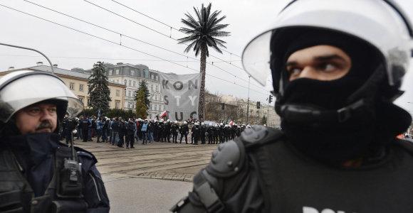 Lenkijoje suimtas atsivertėlis į islamą, įtariamas planavęs teroro išpuolį