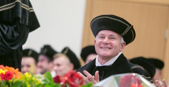 Mykolo Romerio universitete iškilmingai inauguruotas naujasis universiteto rektorius