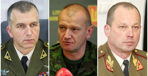 Keičiasi Sausumos pajėgų, Jungtinio štabo, karinės žvalgybos vadai