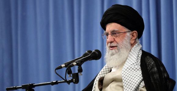 Irano aukščiausiasis lyderis: islamas draudžia naudoti branduolinius ginklus