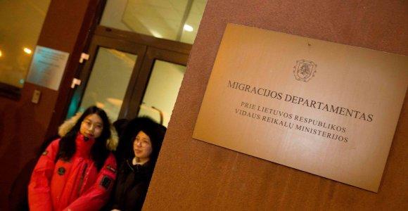 Pernai į Migracijos departamentą kreipėsi rekordinis prieglobsčio prašytojų skaičius