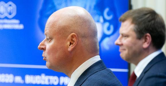2020-ųjų biudžetas keliauja į Seimą: paremtas bankų ir parduotuvių mokesčiais dėl gerovės