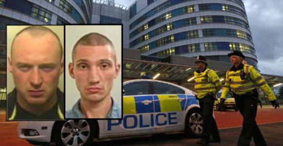 Anglijos Lankašyro policijos ieškomiausių nusikaltėlių dešimtuke – du lietuviai