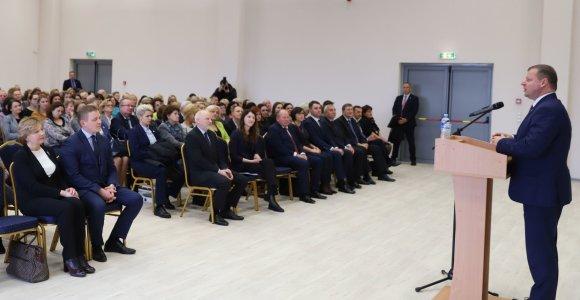 Premjeras S.Skvernelis: Kauno rajone netrukus užvirs dideli darbai
