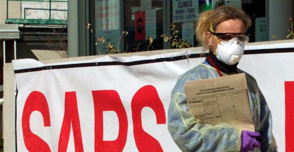 Baltarusijoje įtariamas Kinijoje plintančio viruso atvejis: pacientė grįžo iš Šanchajaus