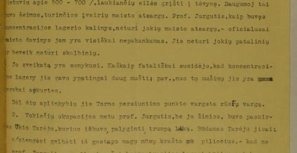 Įdomioji istorija: B.Sruogos 1945 m. rašytame laiške A.Sniečkui atsispindi nacių lagerio siaubai