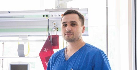 Provincijos ligoninėje dirbantis jaunas chirurgas: paskaitai politikų mintis ir nežinai, kur dėtis