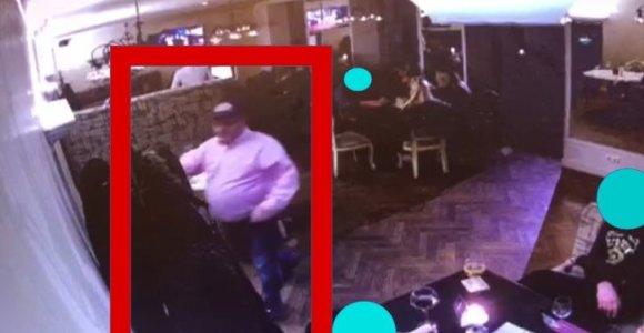 Kaune iš striukės kišenės ilgapirštis ištraukė piniginę: policija prašo jį atpažinti