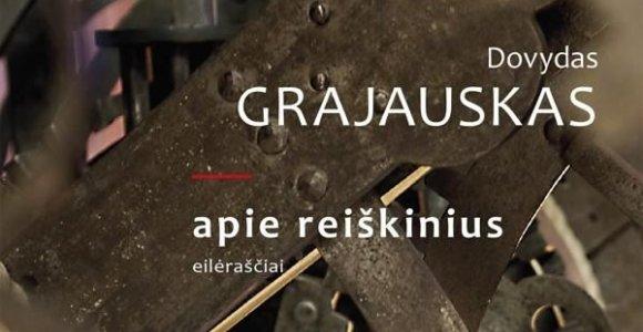 """15min konkursas: laimėkite Dovydo Grajausko poezijos knygą """"Apie reiškinius"""""""