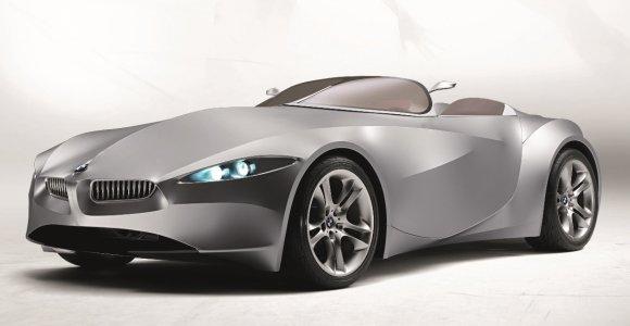 Neįtikėtinas BMW, kuris turėjo minkštą, judantį ir odą primenantį kėbulą