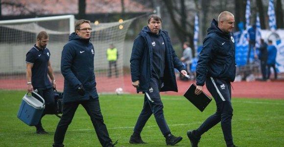 Valdas Dambrauskas ir toliau tęs darbus Latvijoje