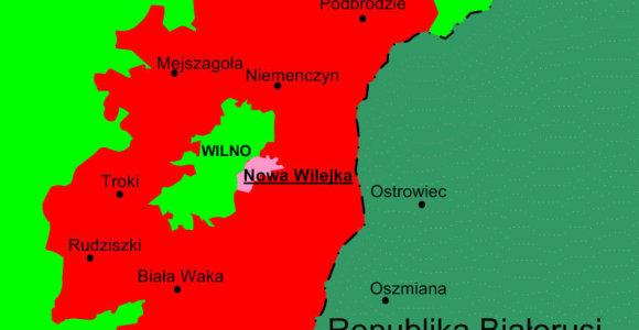 Lenkų autonominis judėjimas Lietuvoje: ar grėsė pilietinis karas dėl Vilniaus krašto?