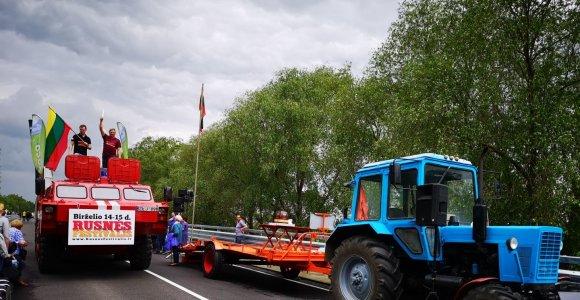 Oficialiai atidaroma Rusnės estakada