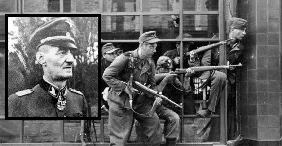 Monstras, kurį už karo nusikaltimus mėgino persekioti net pačios SS teismas